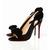 Black Christian Louboutin Etneu Etneu 100mm Slingbacks Red Sole Shoes