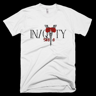 shirt menswear women cute new fashion paris red eiffel tower top bottom white black iniquity jamari vasquez