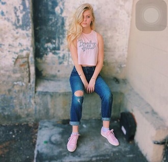 shirt beverly hills pink crop top pink crop tops