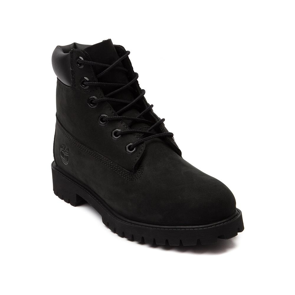 Tween Timberland 6 Classic Boot, Black   Journeys Kidz