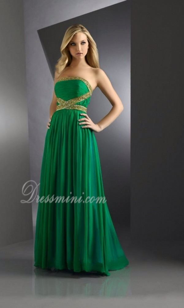 dress long prom dress green dress emerald green