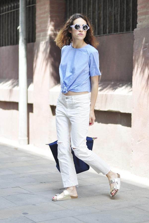 dansvogue jewels top bag jeans