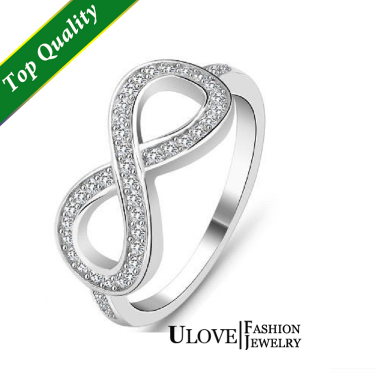 No. Min.Friendship 925 Sterling Silver Ring for Women Simulated Diamond Ring CZ Wedding Infinity Rings Valentine's Day Gift Y001-in Rings from Jewelry on Aliexpress.com