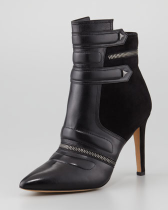 Sam Edelman | Margo Suede & Leather Bootie, Black (Stylist Pick!) - CUSP