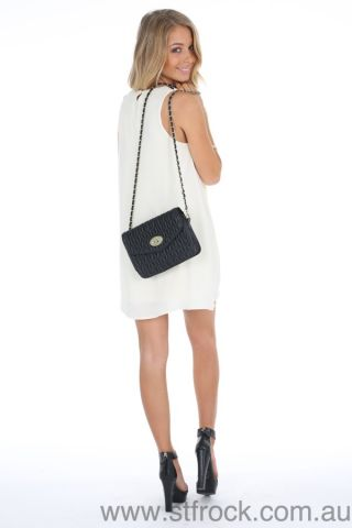 Browse By :: Brand :: St. Frock :: Simplicity Swing Dress in Cream -