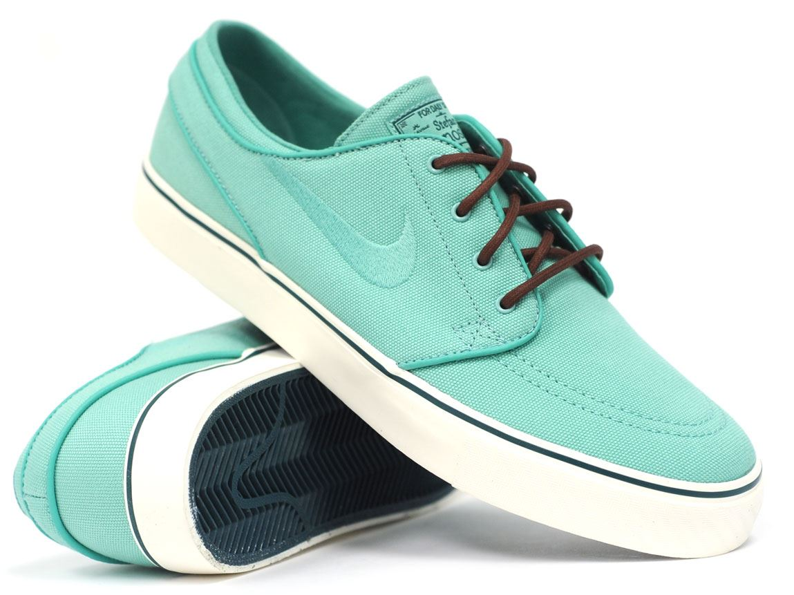 Nike SB Zoom Stefan Janoski (Crystal Mint/Crystal Mint) (Nike SB 333824334), Skate Shoes | Skateboard Footwear
