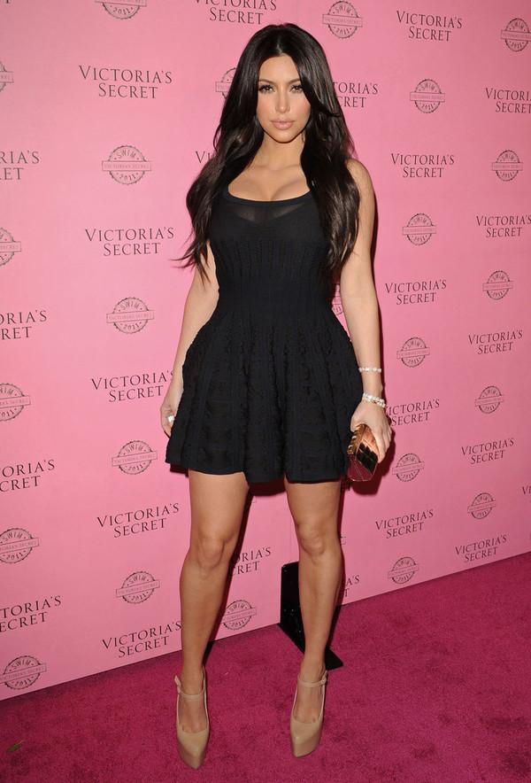 dress black kim kardashian dress little black dress