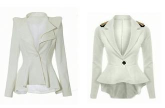 jacket white blazer outerwear stud