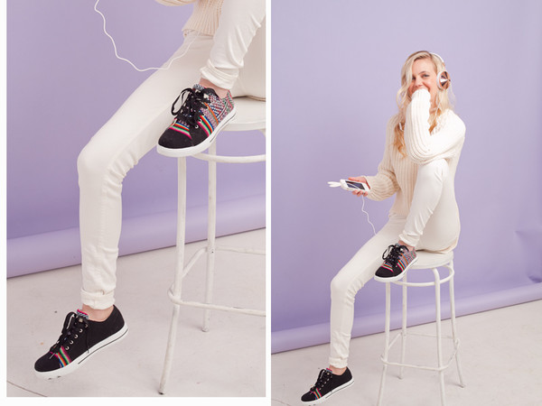 cocorosa sweater jeans shoes