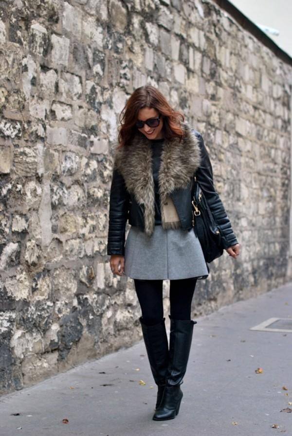 my style pill sunglasses jacket shirt skirt shoes