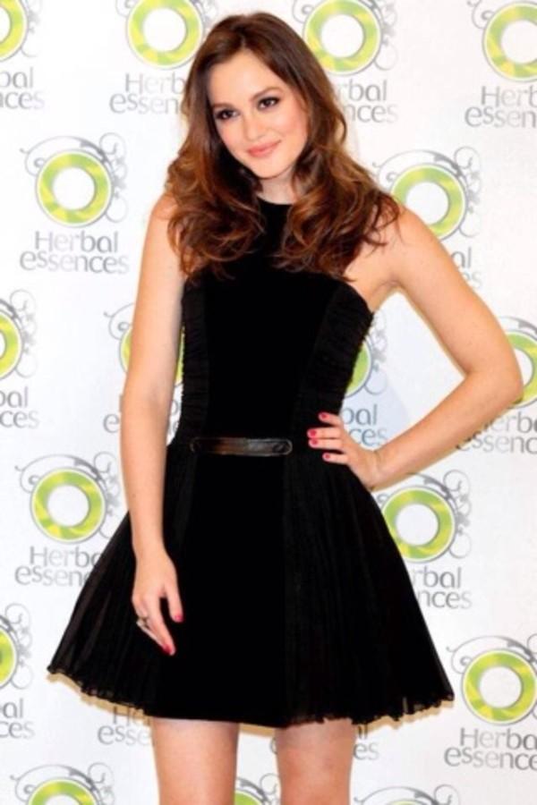 dress black little black dress blair waldorf gossip girl