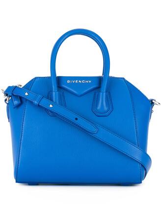 mini women blue bag