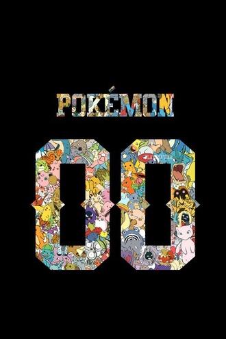 t-shirt isthereashirtwiththisdesign? pokemon colorful
