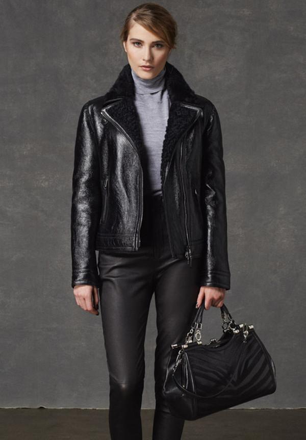 jacket coach lookbook fashion sweater pants bag