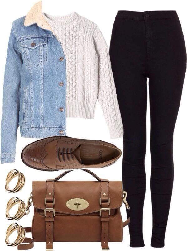 pants jacket sweater bag shoes