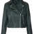 Boxy Leather Biker Jacket - Jackets & Coats  - Clothing  - Topshop