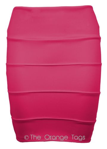 NEW WOMENS RIBBED PANEL BANDAGE BODYCON SKIRT DRESS LADIES MINI SKIRTS 8-14 | eBay