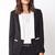 Menswear-Inspired Tuxedo Blazer | LOVE21 - 2000091709