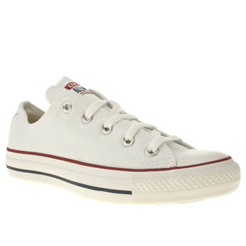 Women's White Converse All Star Oxford White Trainers | schuh