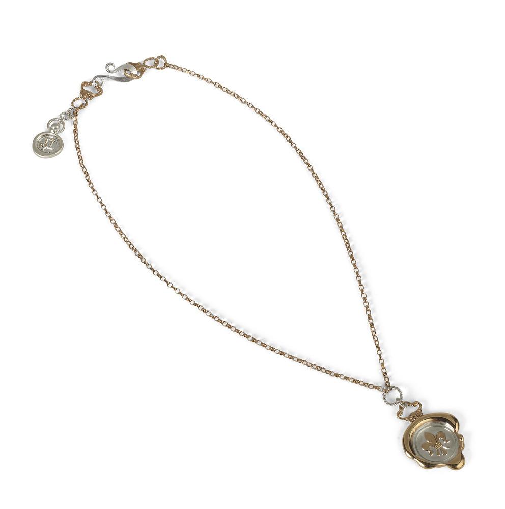 Fleur-de-Lis Wax Seal Necklace | Jessica de Lotz Jewellery