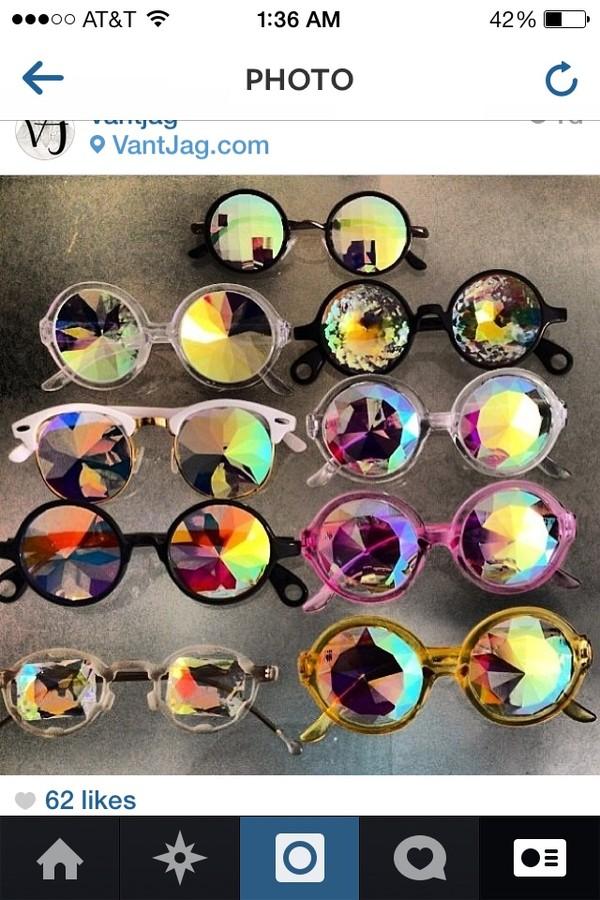 sunglasses hologram holographic sunglasses