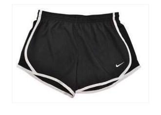 shorts nike black booty shorts gym shorts