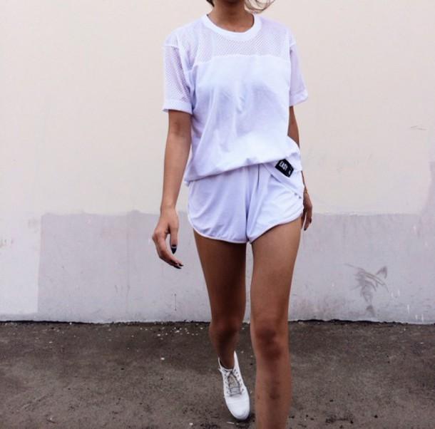 shirt white white t-shirt