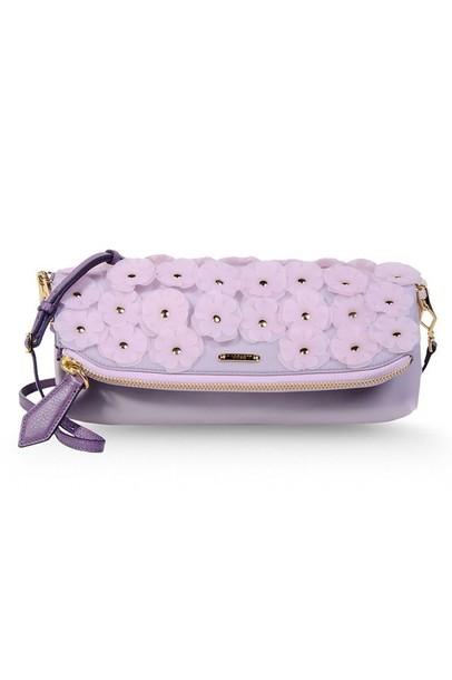 bag clutch purple