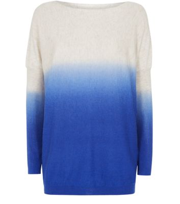 Misumi Blue Dip Dye Sweater