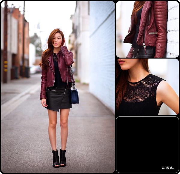 tsangtastic t-shirt skirt jacket shoes bag