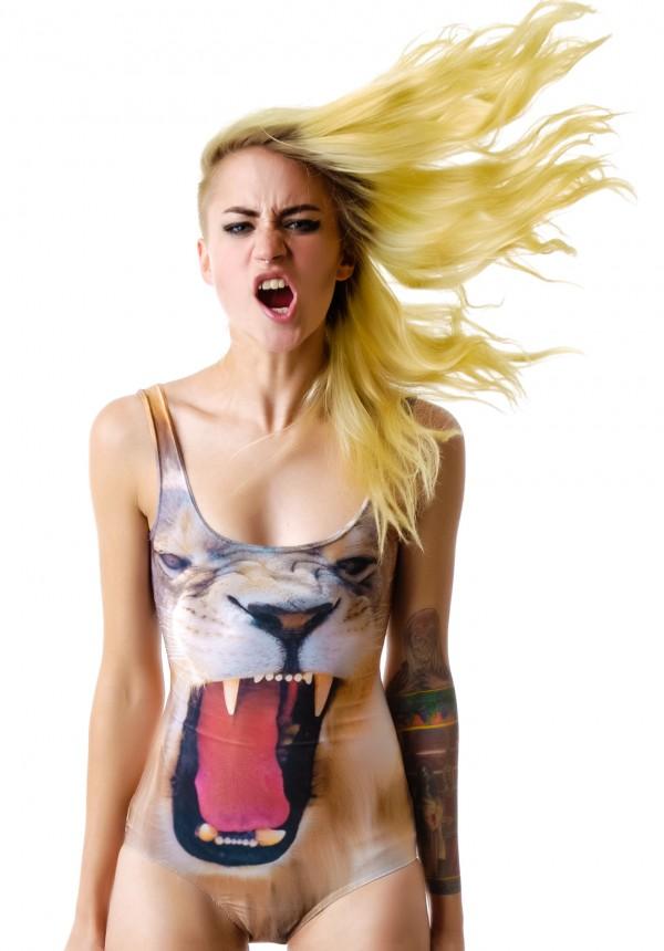 BamBam Roar Bodysuit | Dolls Kill