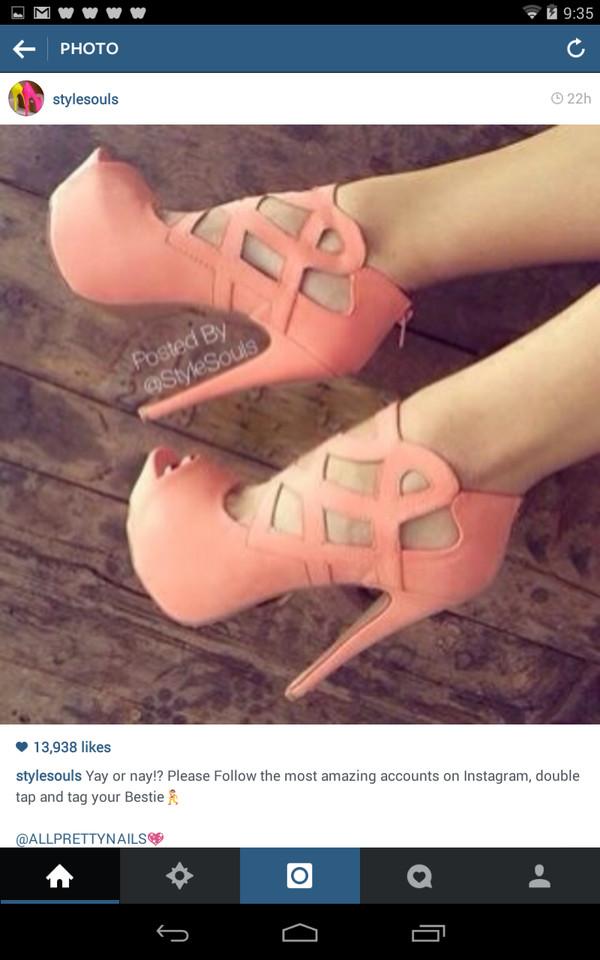shoes pink baby pink high heels pastel pink