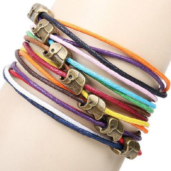 jewels braided rope bracelet