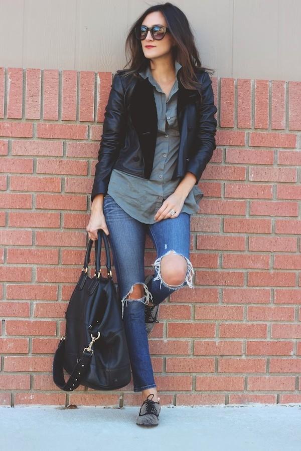 frankie hearts fashion jacket t-shirt jeans shoes bag