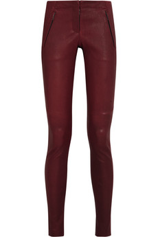 A.L.C. Stefan leather pants - 60% Off Now at THE OUTNET