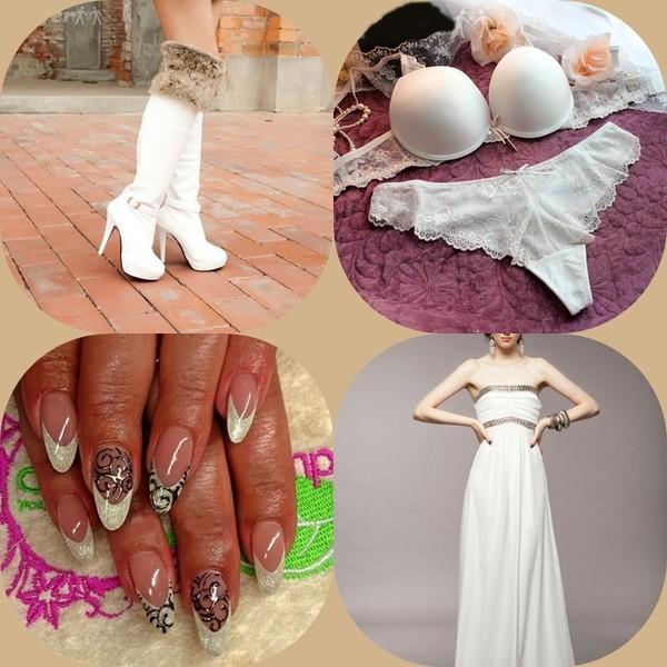 dress shoes lingerie nail art