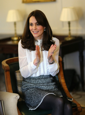 skirt blouse kate middleton fall outfits
