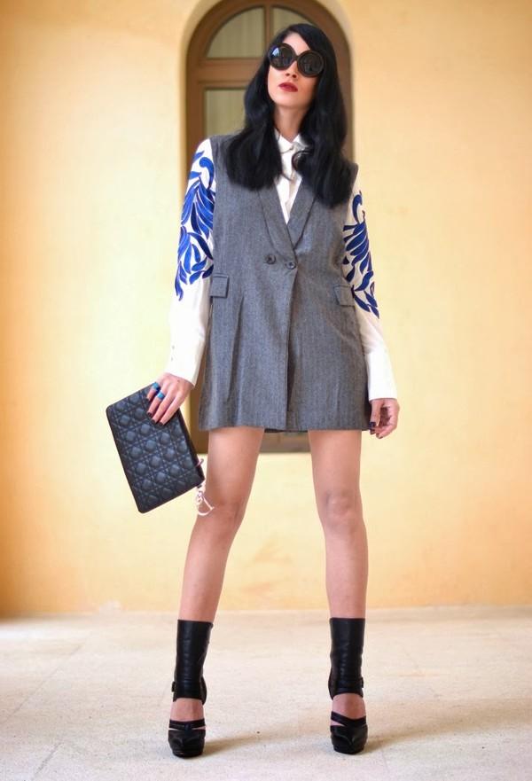 serial klother shirt jacket dress bag shoes sunglasses