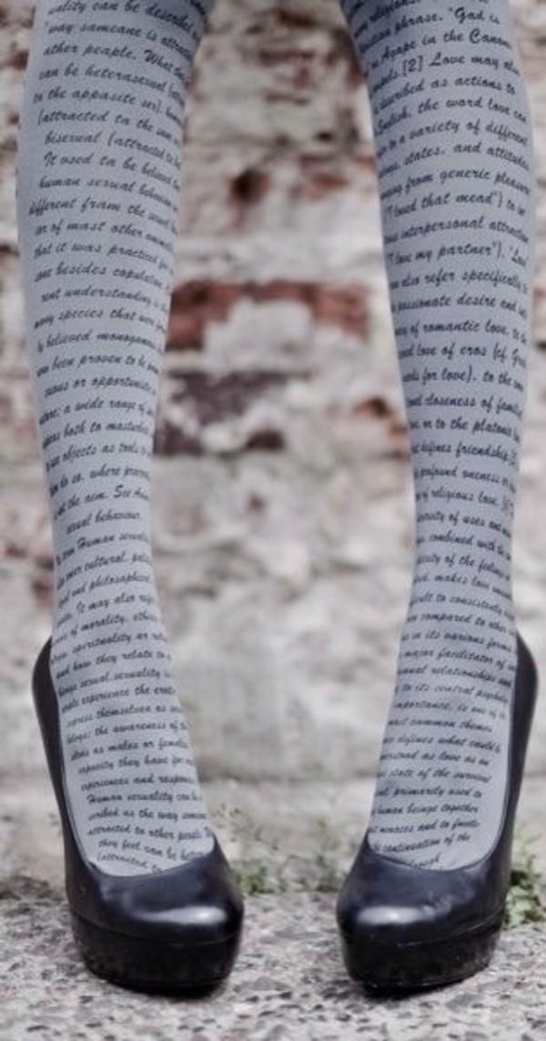 pants book leggings cute