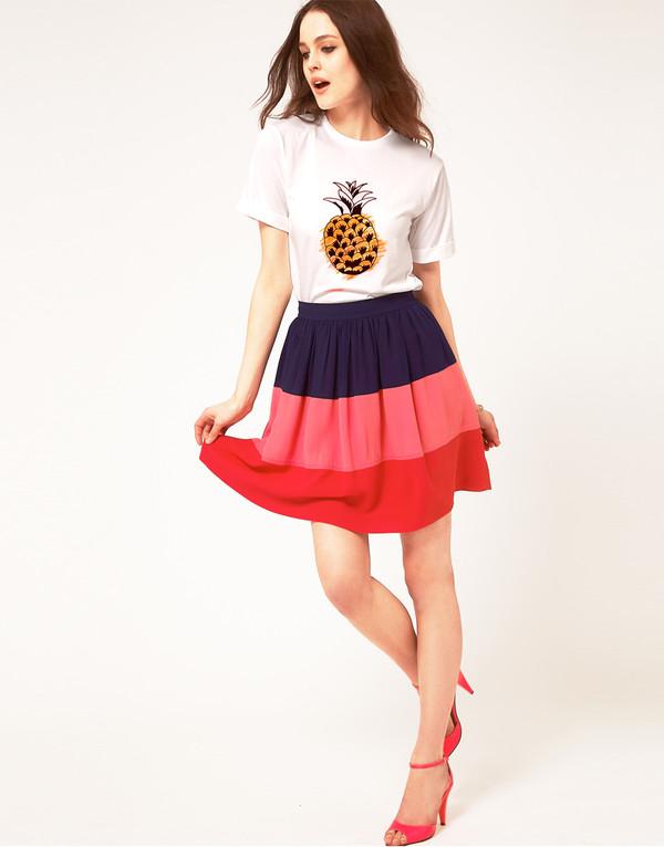 shirt t-shirt pineapple