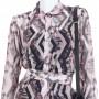Tamer Diamond Shirt Dress - Dresses - Clothing - Ready To Wear