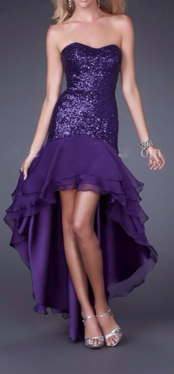 dress purple dress sparkle glitter