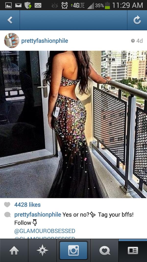 dress prom black dress mermaid prom dress prom dress