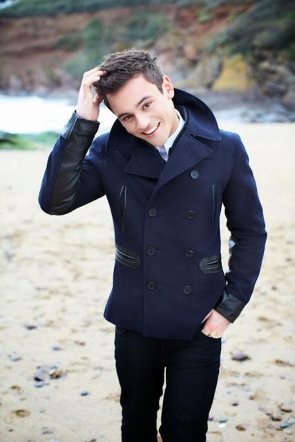 coat tom daley
