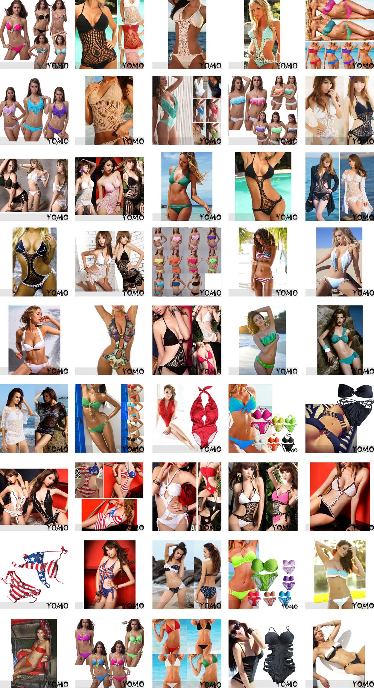 2pcs Sexy Black Padded Fringe Strapless Dolly Bikini Swimwear Bathing Suit | eBay