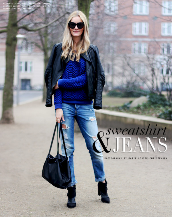 passions for fashion jeans sweater jacket shoes bag jewels sunglasses