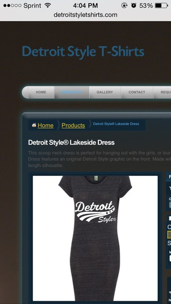 dress detroitstyletshirts.com