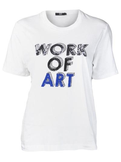 Markus Lupfer 'work Of Art' Sequin T-shirt - Splash - Farfetch.com