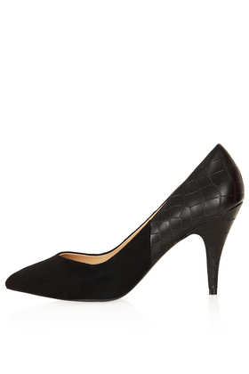 JANE V Throat Court Shoes - View All  - Shoes  - Topshop