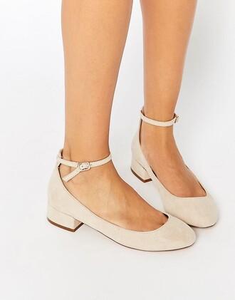 shoes heels low heels ankle strap heels